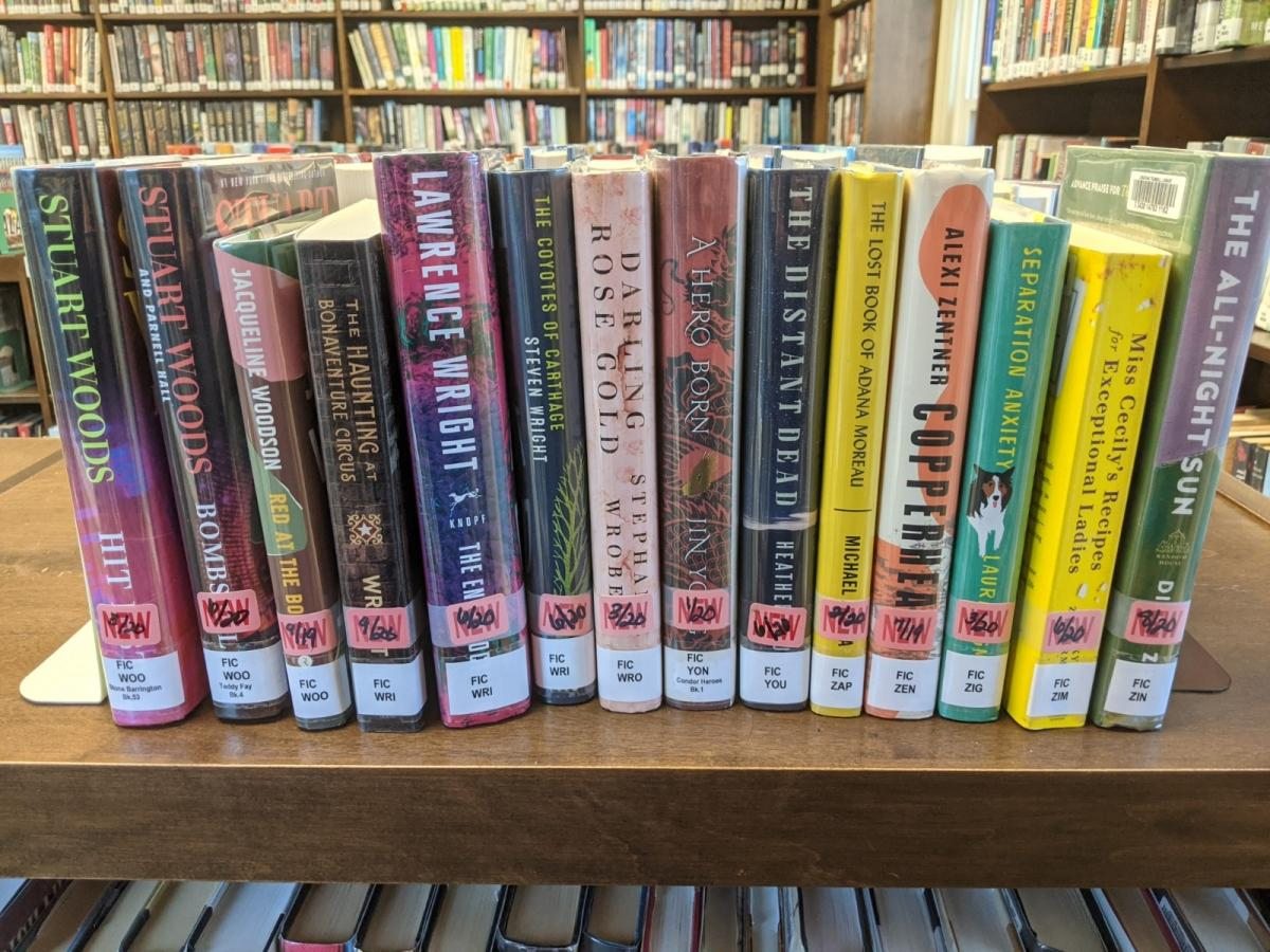 New Adult Fiction Shelf Browse W-Z