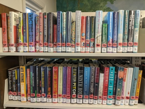 New Adult Fiction Shelf Browse A