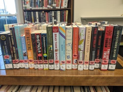 New Adult Fiction Shelf Browse TC
