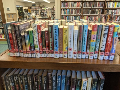 New Adult Fiction Shelf Browse T-W