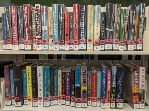 New Adult Fiction Shelf Browse M