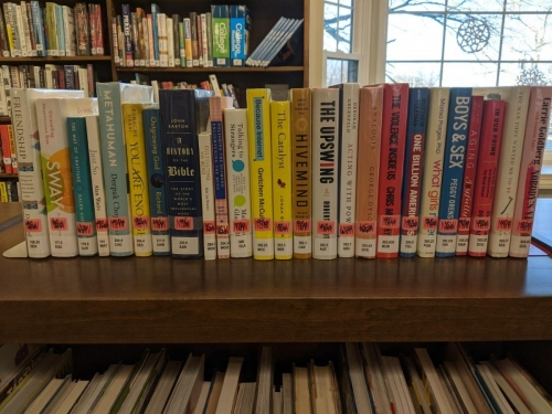 New Adult Non-Fiction Shelf Browse 100