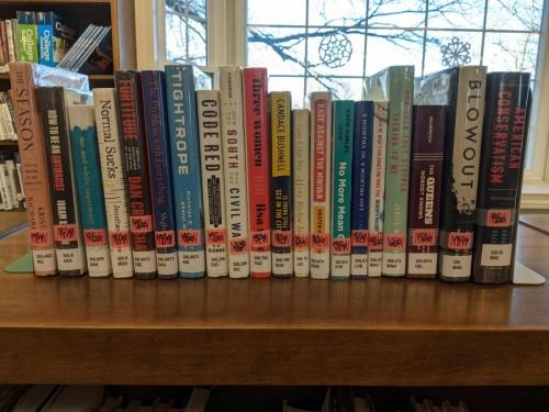 New Adult Non-Fiction Shelf Browse 300