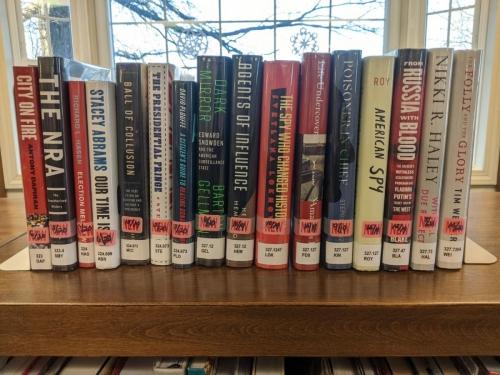 New Adult Non-Fiction Shelf Browse 320