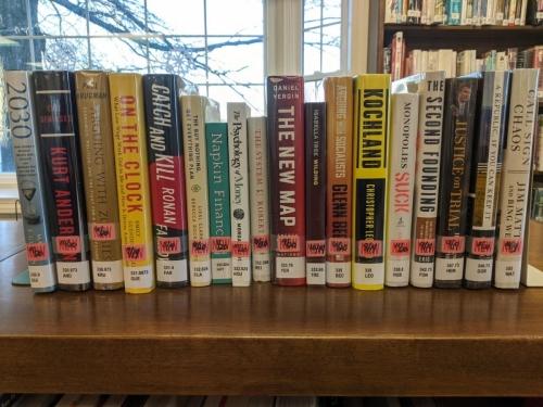 New Adult Non-Fiction Shelf Browse 330