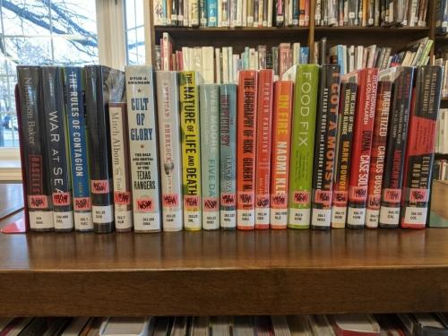 New Adult Non-Fiction Shelf Browse 350