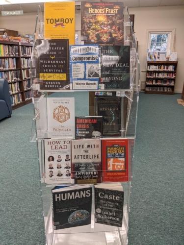 New Adult Non-Fiction Shelf Browse DEC 1