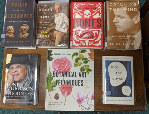 New Adult Non-Fiction Shelf Browse DEC 2