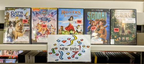 New J DVDs