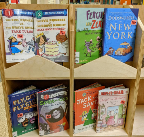 New J Easy Readers and Early Chapter Books
